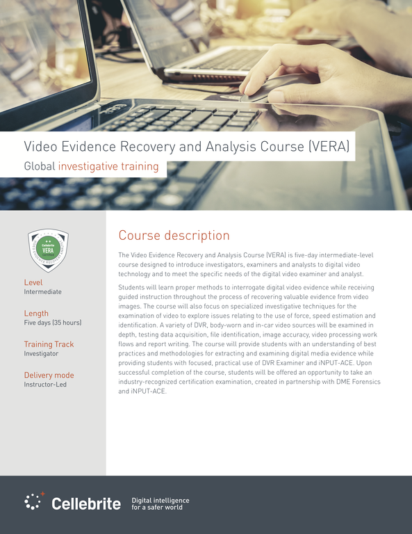 VERA Course description