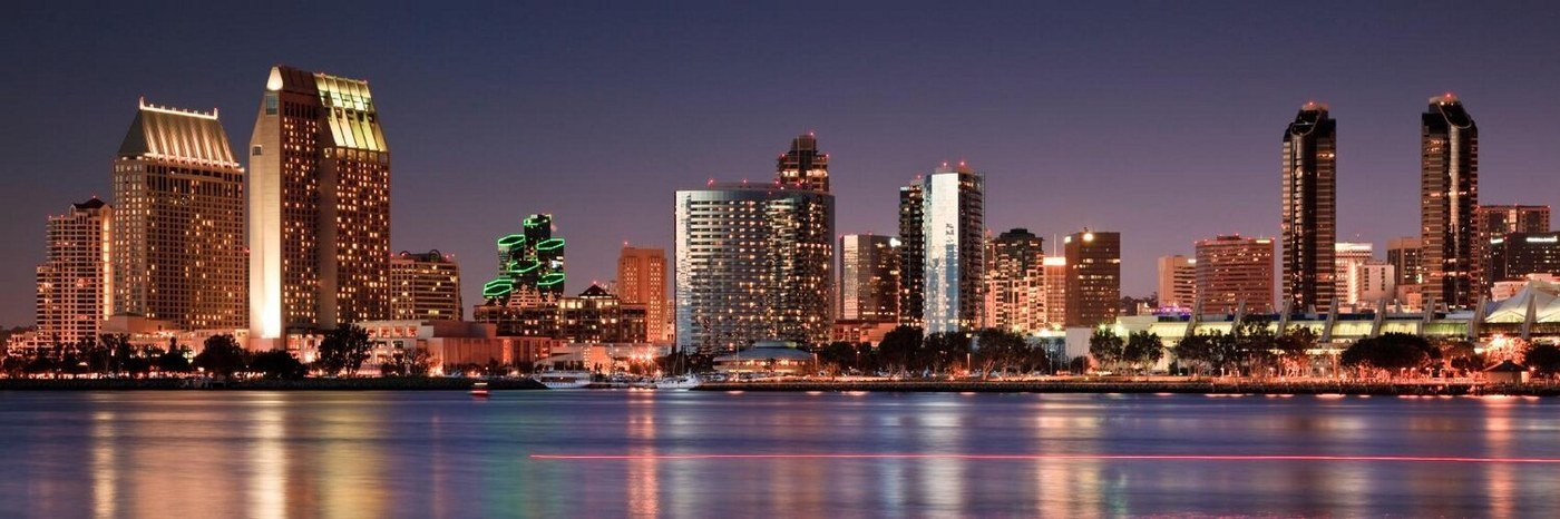 San Diego city skyline