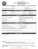 IWRCFL Service Request Form (Word Doc)