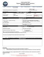 IWRCFL Service Request Form (PDF)