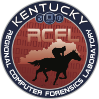 Kentucky RCFl patch. It has a person riding on a horse