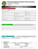 NJRCFL Service Request Form (Hardcopy format)