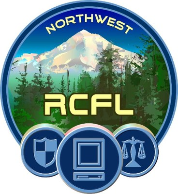 Northest RCLF Logo which has snow covered mountains on it