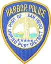 San Diego Harbor PD patch
