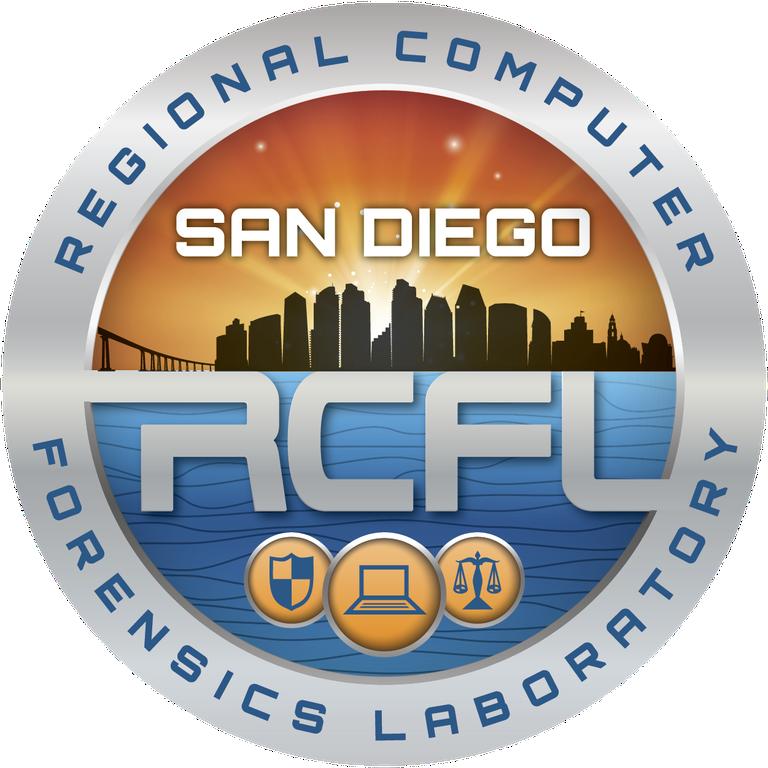 San Diego's RCFL Logo.